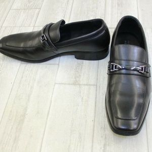 Perry Ellis Men's Black Dress Shoe